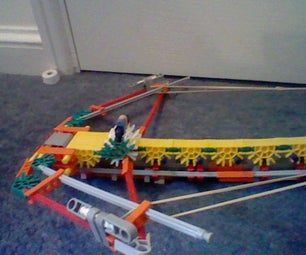 Ultra Cool Modded Knex 5 Elastic Band Crossbow.