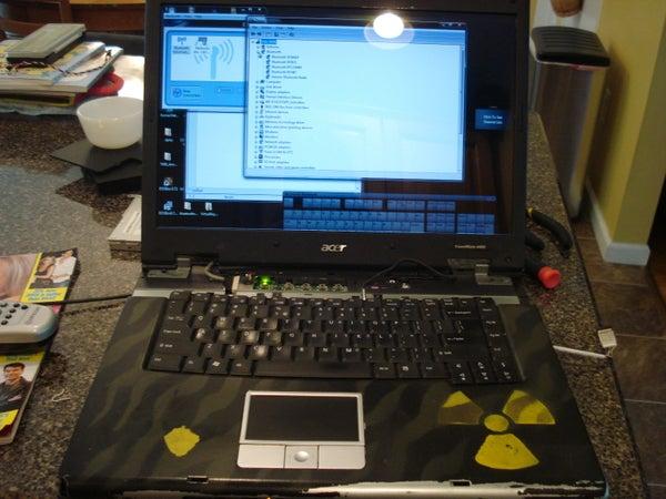 Add Internal Bluetooth to an Acer Travelmate 4400/Aspire 5020 Laptop.