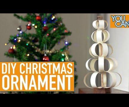 DIY Christmas Ornament Using Edge Banding