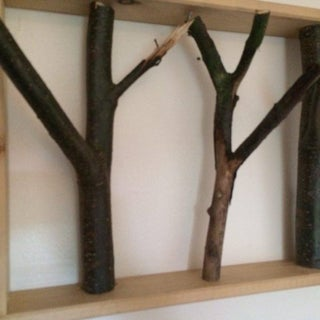 Simple Branching Coat Rack