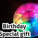 Happy Birthday RGB Rainbow Lighting Gift