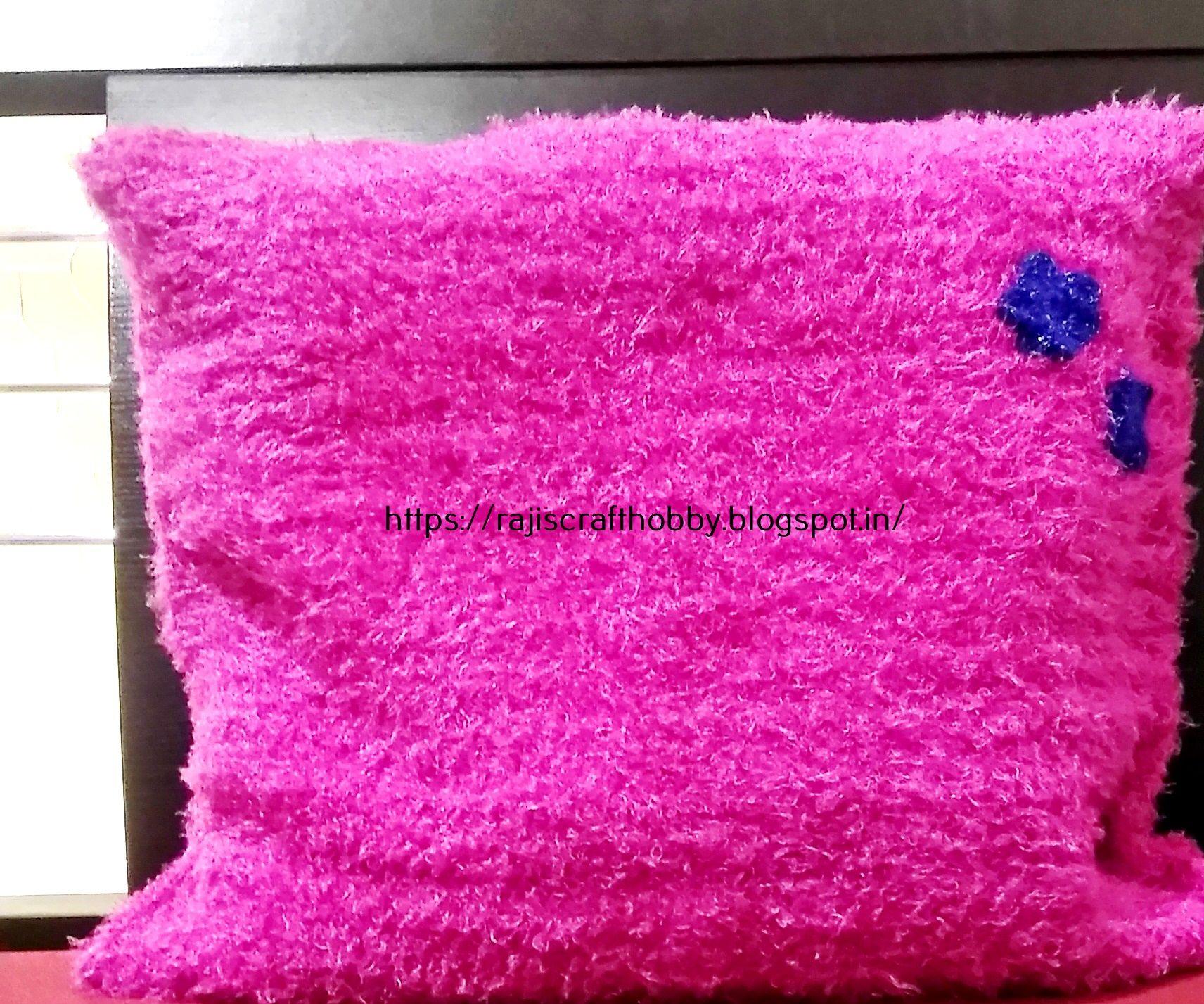Basic Double Crochet Cushion Cover