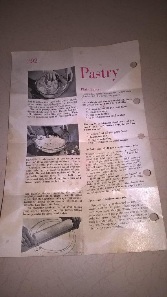 Professional Pie Crust