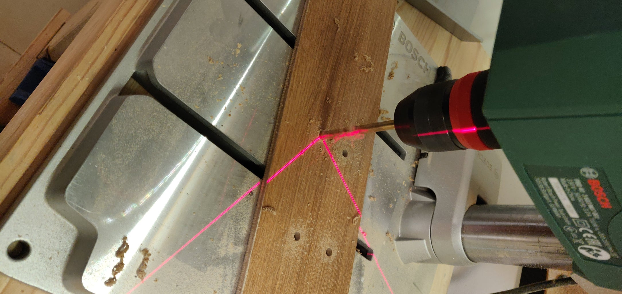 Drill Holes for Drainage