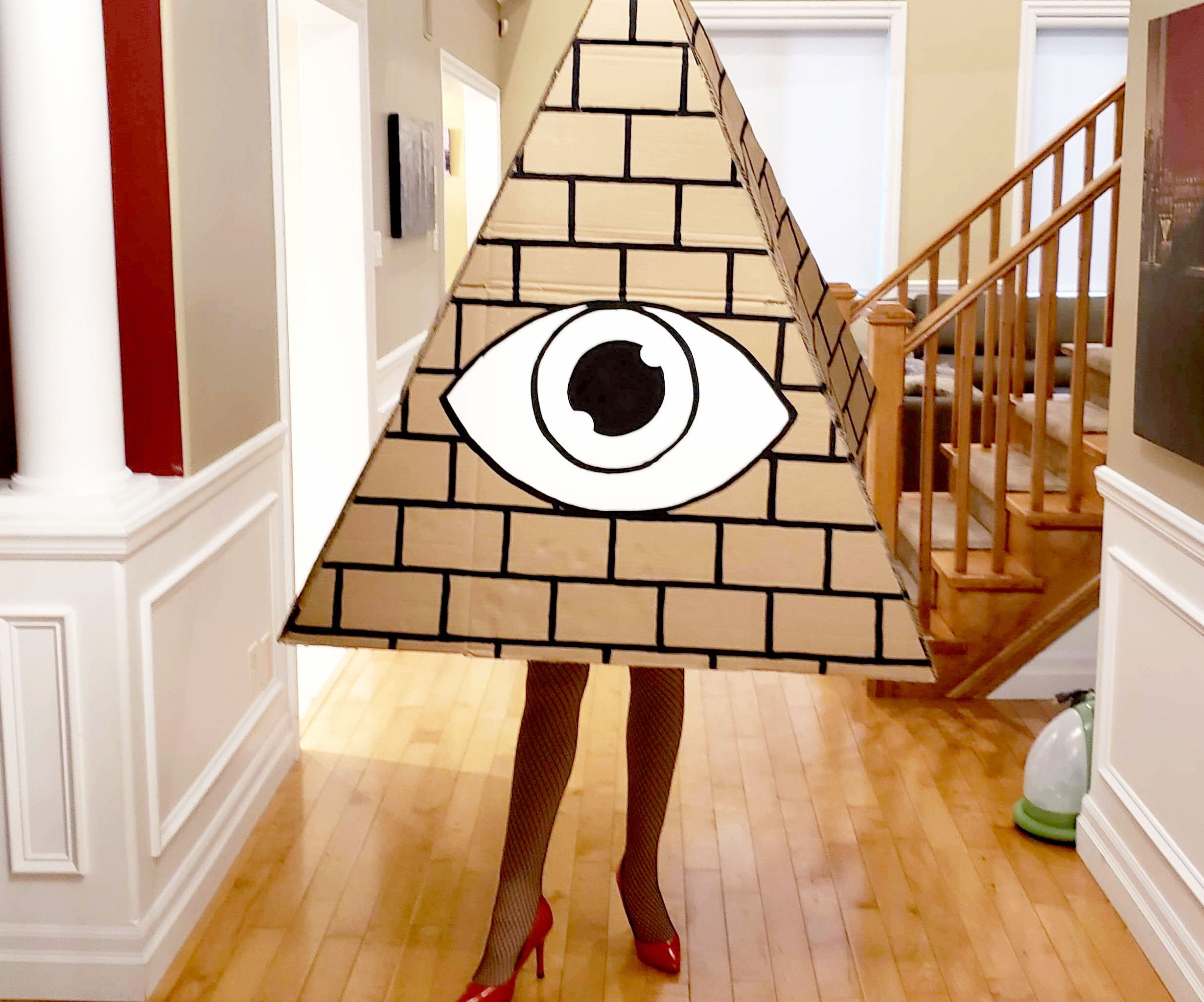 Easy Halloween Illuminaughty Costume