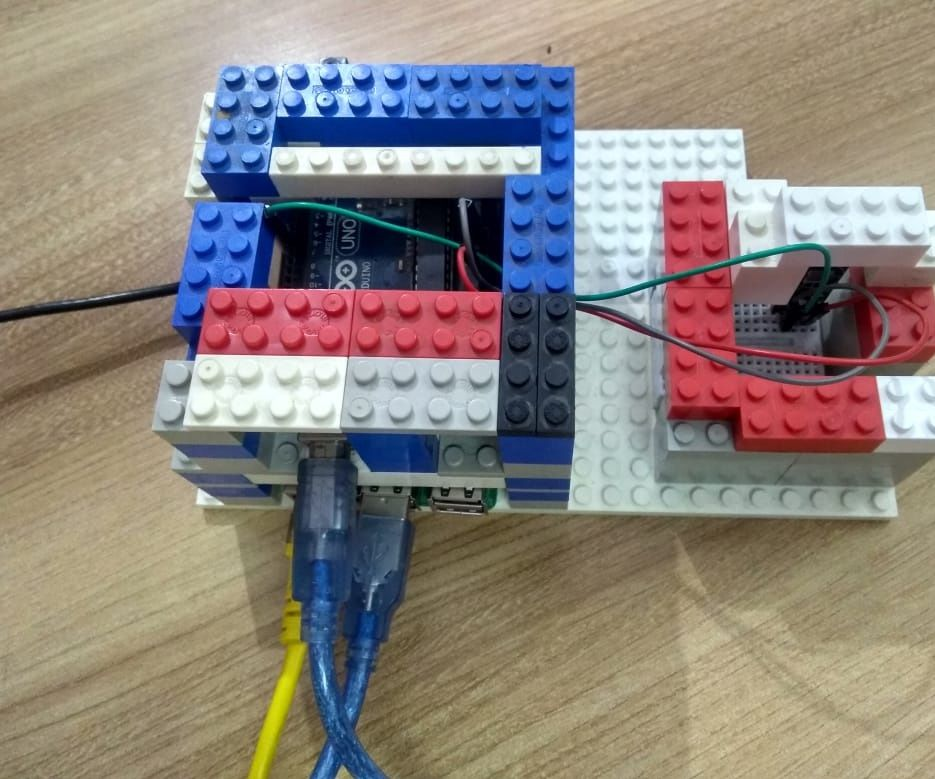 Plot Data of DHT11 Using Raspberrypi and Arduino UNO