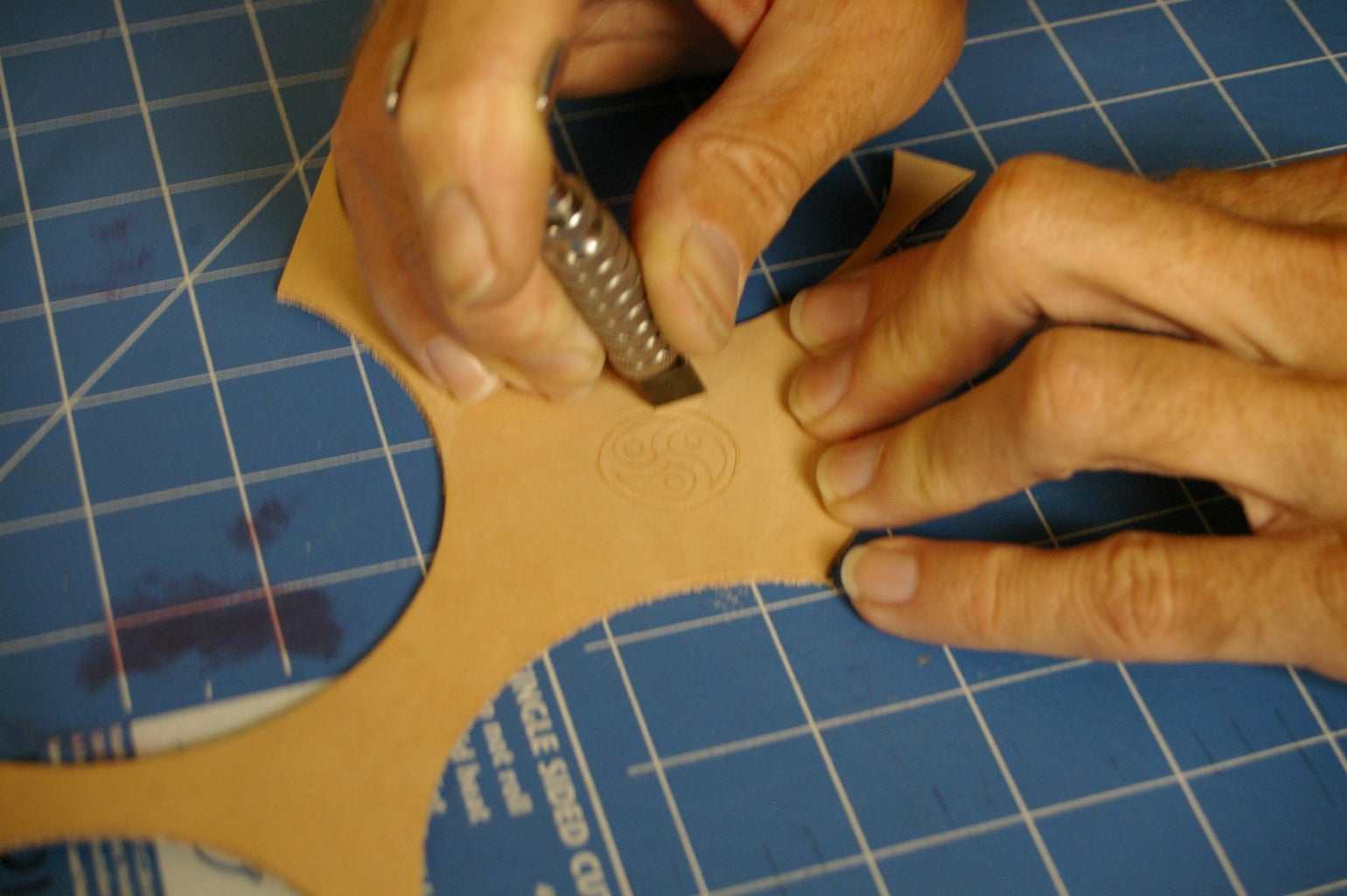 """""""Carving"""" the Leather"""