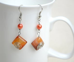 Simple Beaded Jewelry Design-make Adorable Handmade Earrings Within 10 Minutes