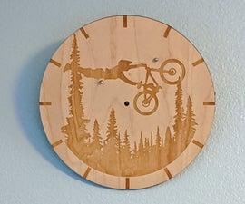 Magnetic Custom Image Clock