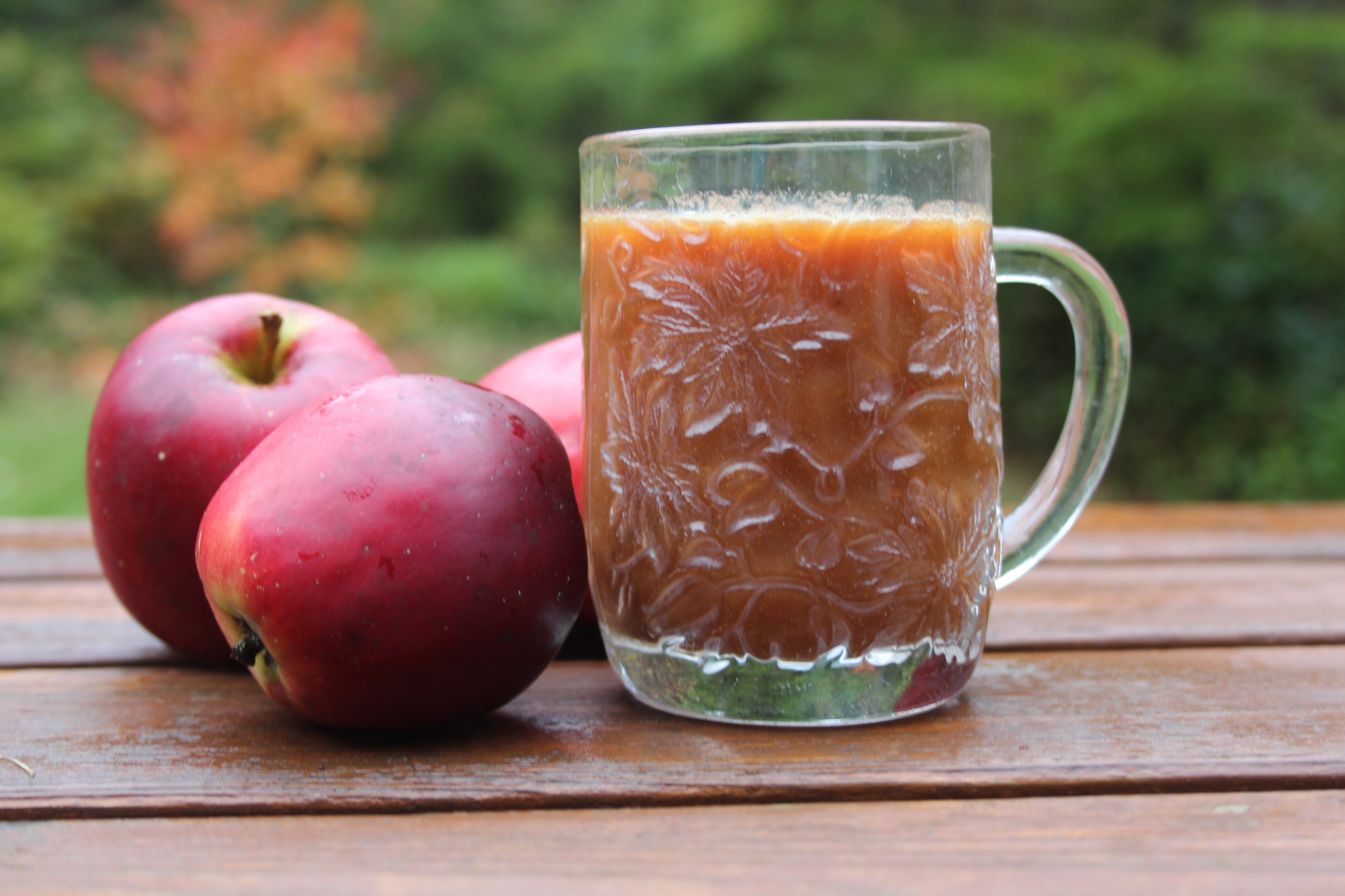 Apple Cider from Apples (no cider press)