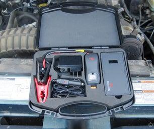 Jump Start With a Portable Jump Starter