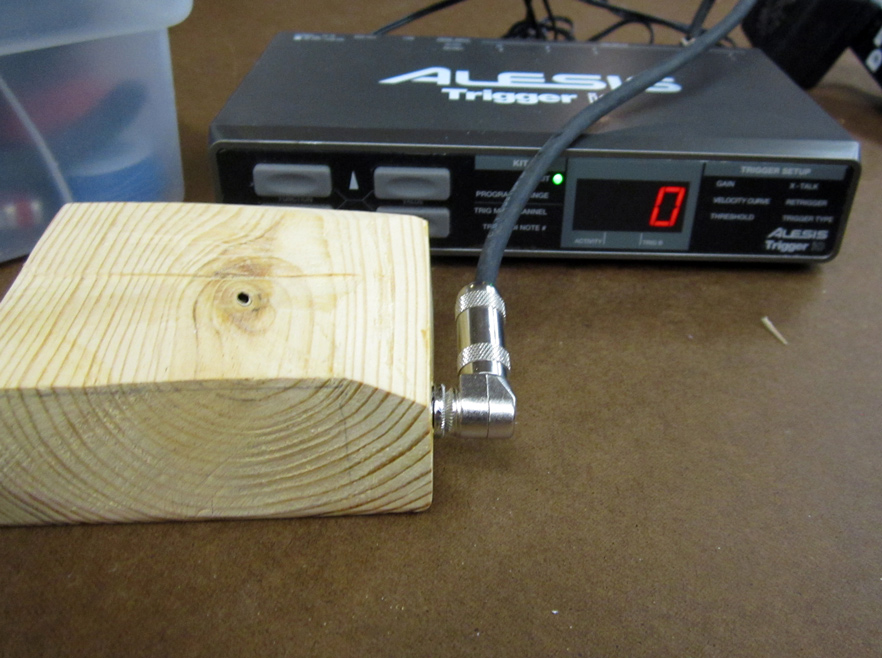 Electronic drum trigger from scratch