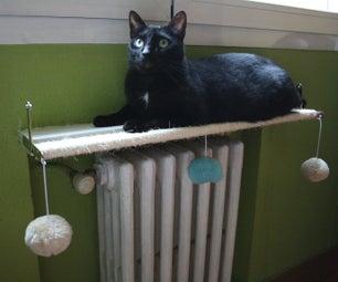 Cat Radiator Shelf and Play Zone