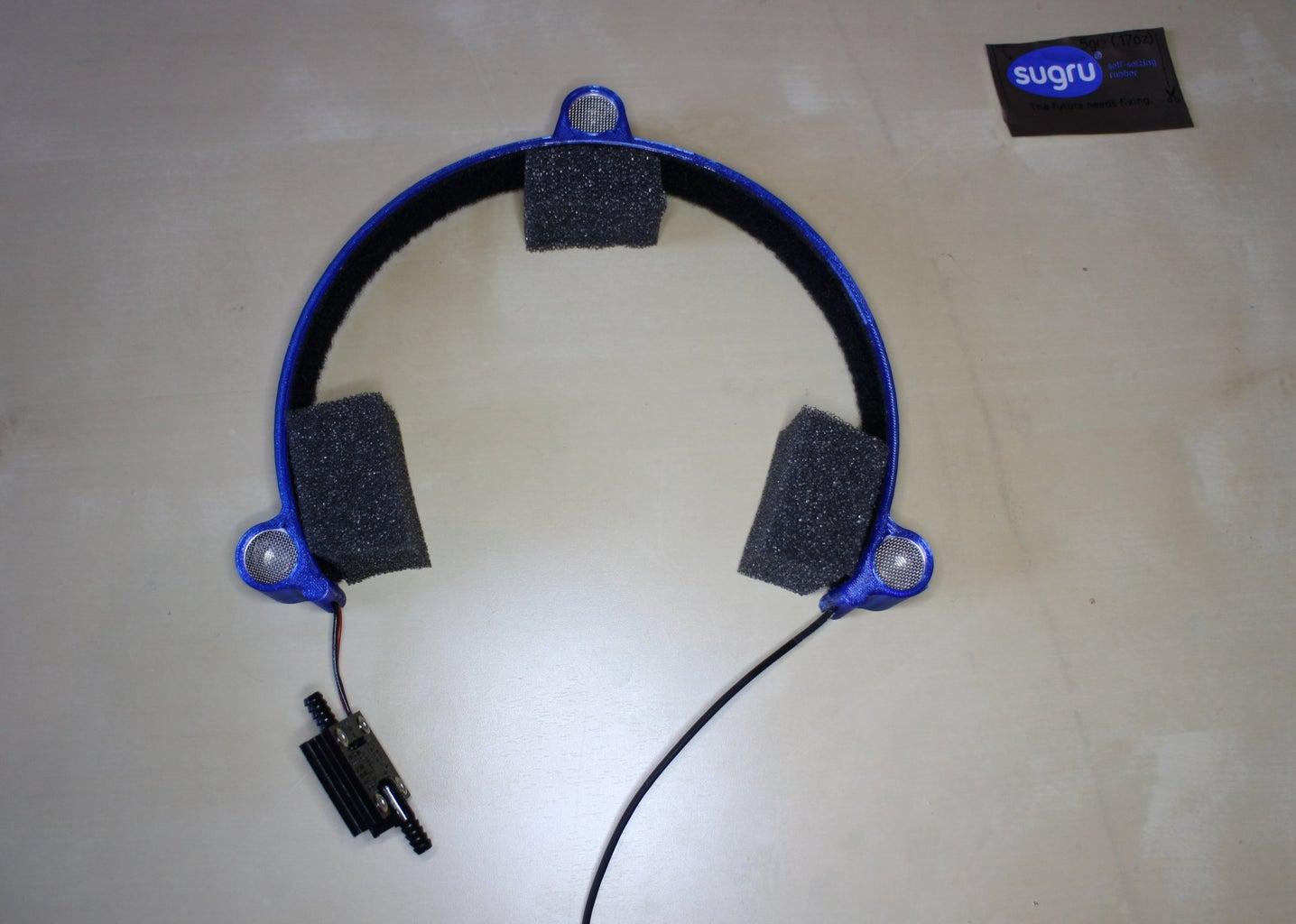Ultrasonic Headtracker Mouse