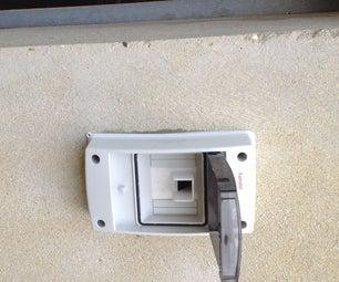 Fingerprint Lock - Unbreakable Garage Door (Electronic and Mechanic System)