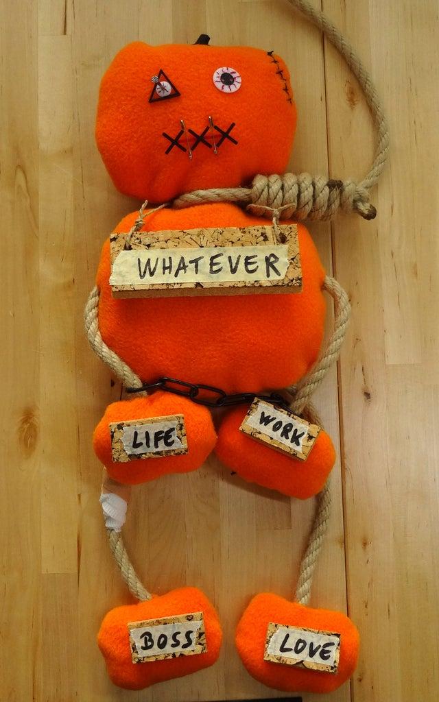 Pumpkin Voodoo Doll