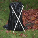 Folding PVC Lawn and Leaf Bag Holder