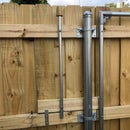 Concealed Gate and Latch