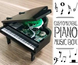 Customizable Piano Music Box