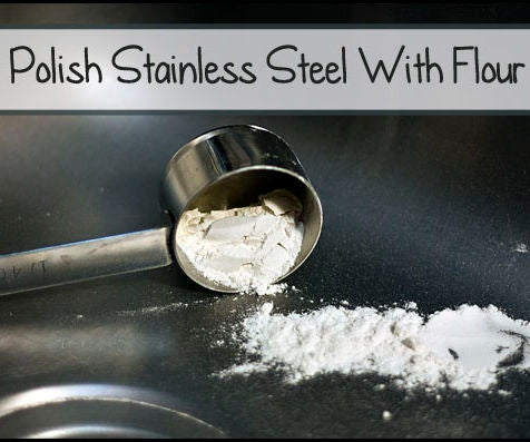 Polished Metal With Flour???