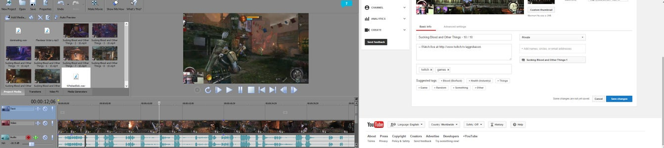 Editing for an Internet Audience Using Sony Movie Studio