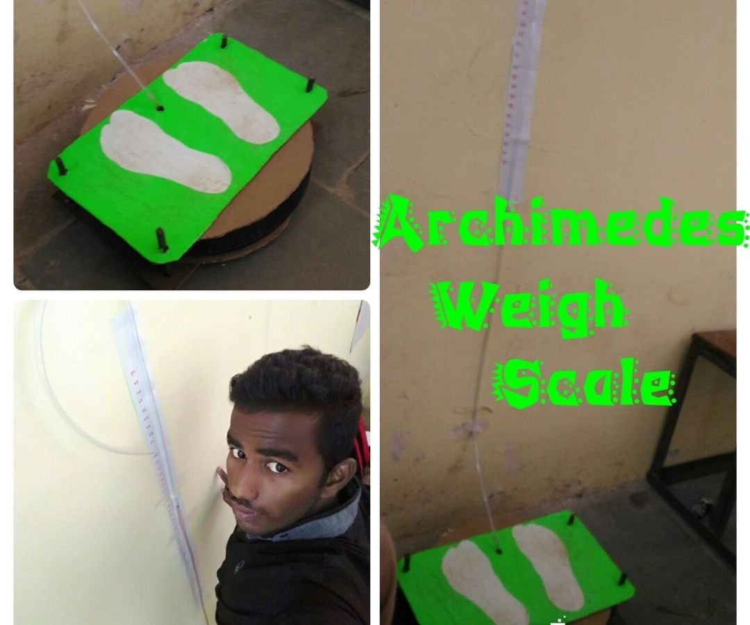 Archimedes' Weigh Scale