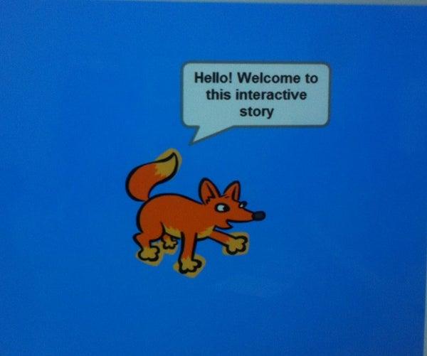 Makey Makey Interactive Story Using Scratch!