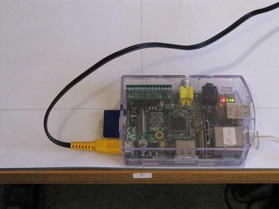 Raspberry Pi Manual Calibration
