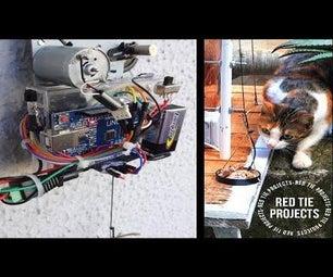 如何为流浪猫制作食品运输车|Arduino项目
