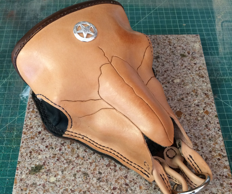 Cow Skull Tool Bag