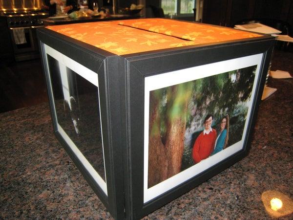 DIY Photo Frame Cardbox