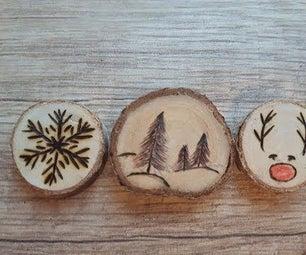 Pendant Made of Wood / Подвеска Из Дерева.