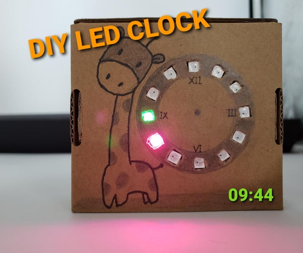 DIY LED Clock With WS2812