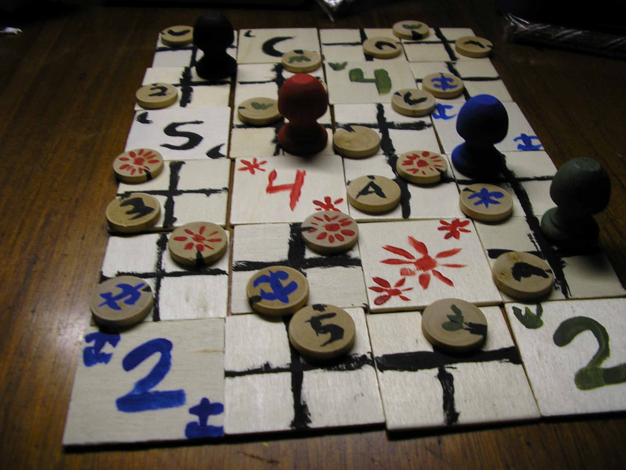 Make your own Piecepack!  (Modular boardgaming system)