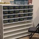Even Easier DIY 48-bin Shelf