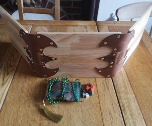 Wood & Leather Dungeon Masters Screen