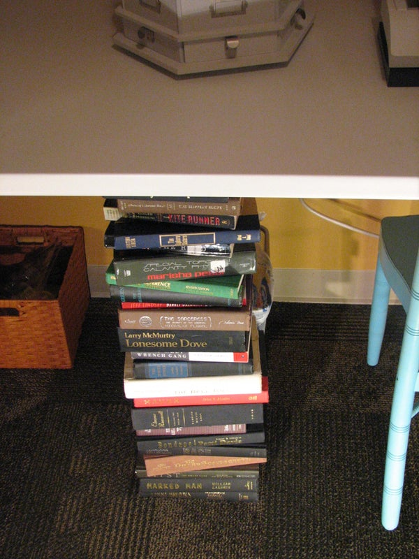 Leg of Books
