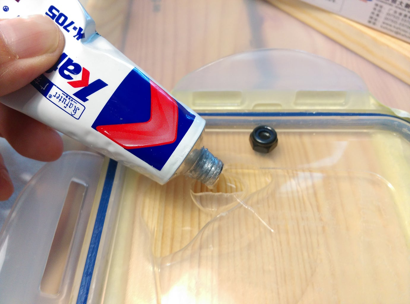Make the Air Filter Parts and the Dust Chamber