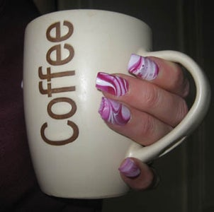 How to Make These Awesome Water Marbled Nails!