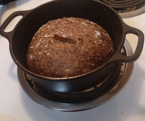 Irish Stout Cast Iron Beer Bread