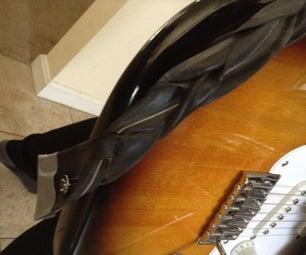 Braided Inner Tube Guitar Strap