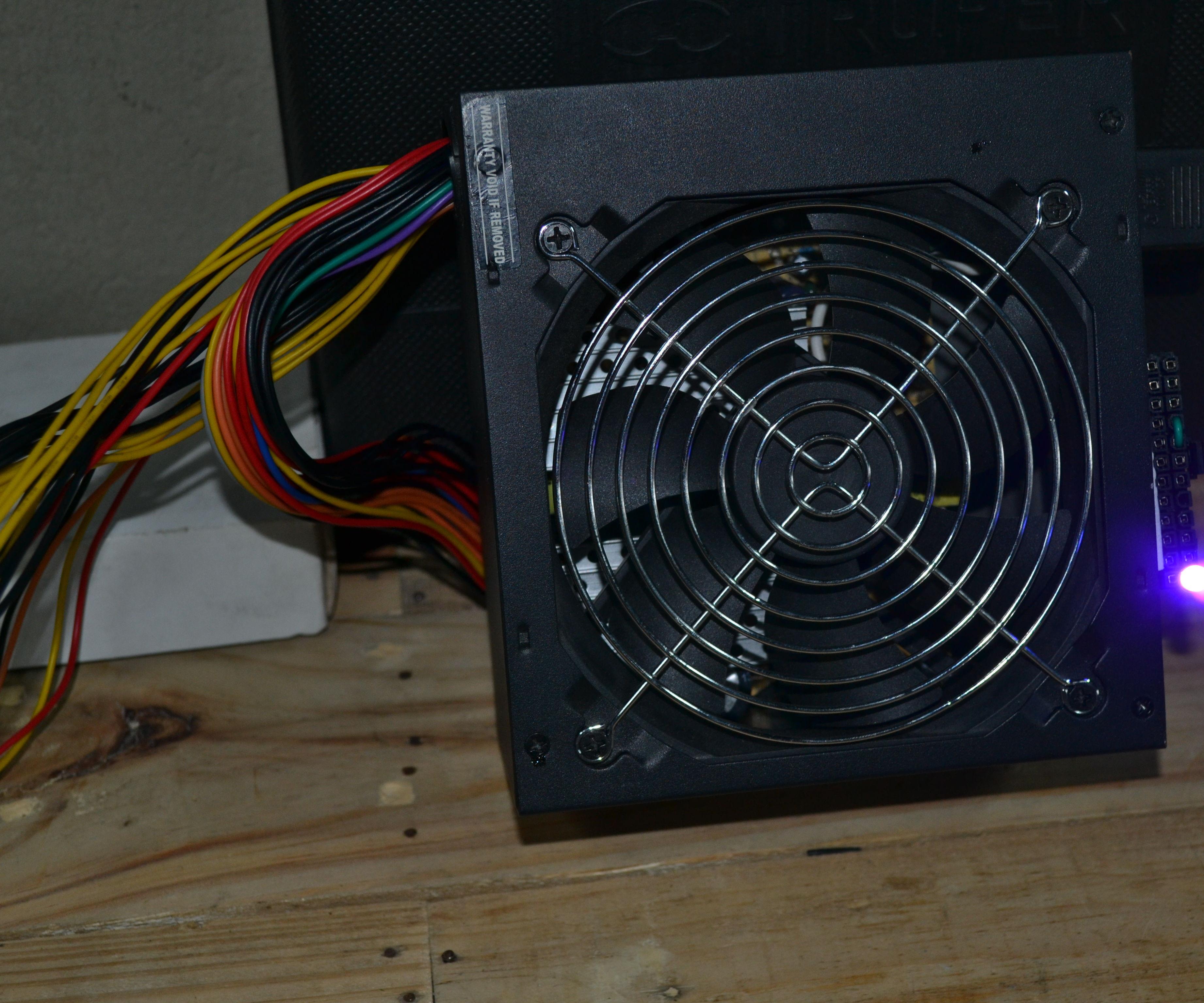 Como encender un Power Supply sin motherboard
