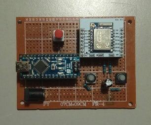 ESP8266-07 Programmer With Arduino Nano