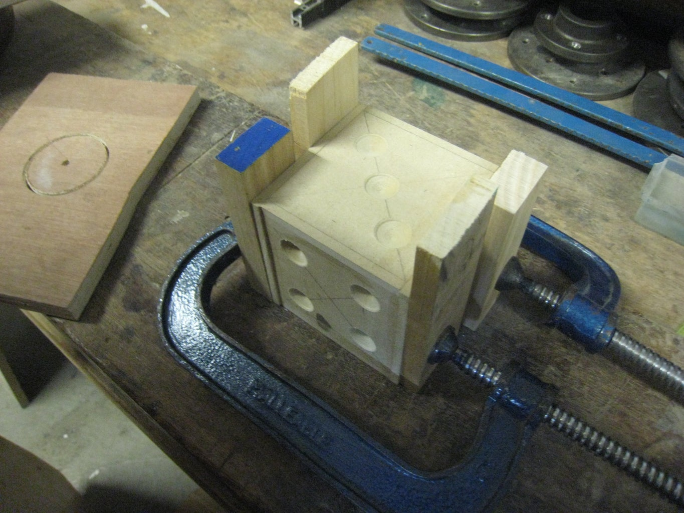 Gluing Some Parts Together