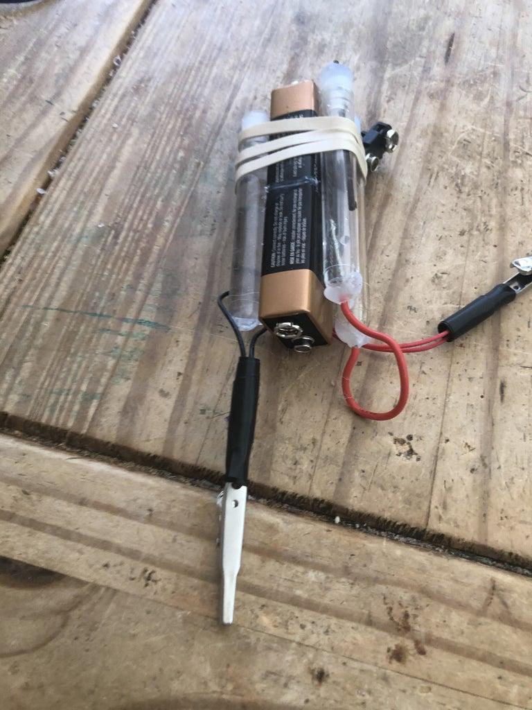 Pocket Sized Hydrogen/Oxygen Generator