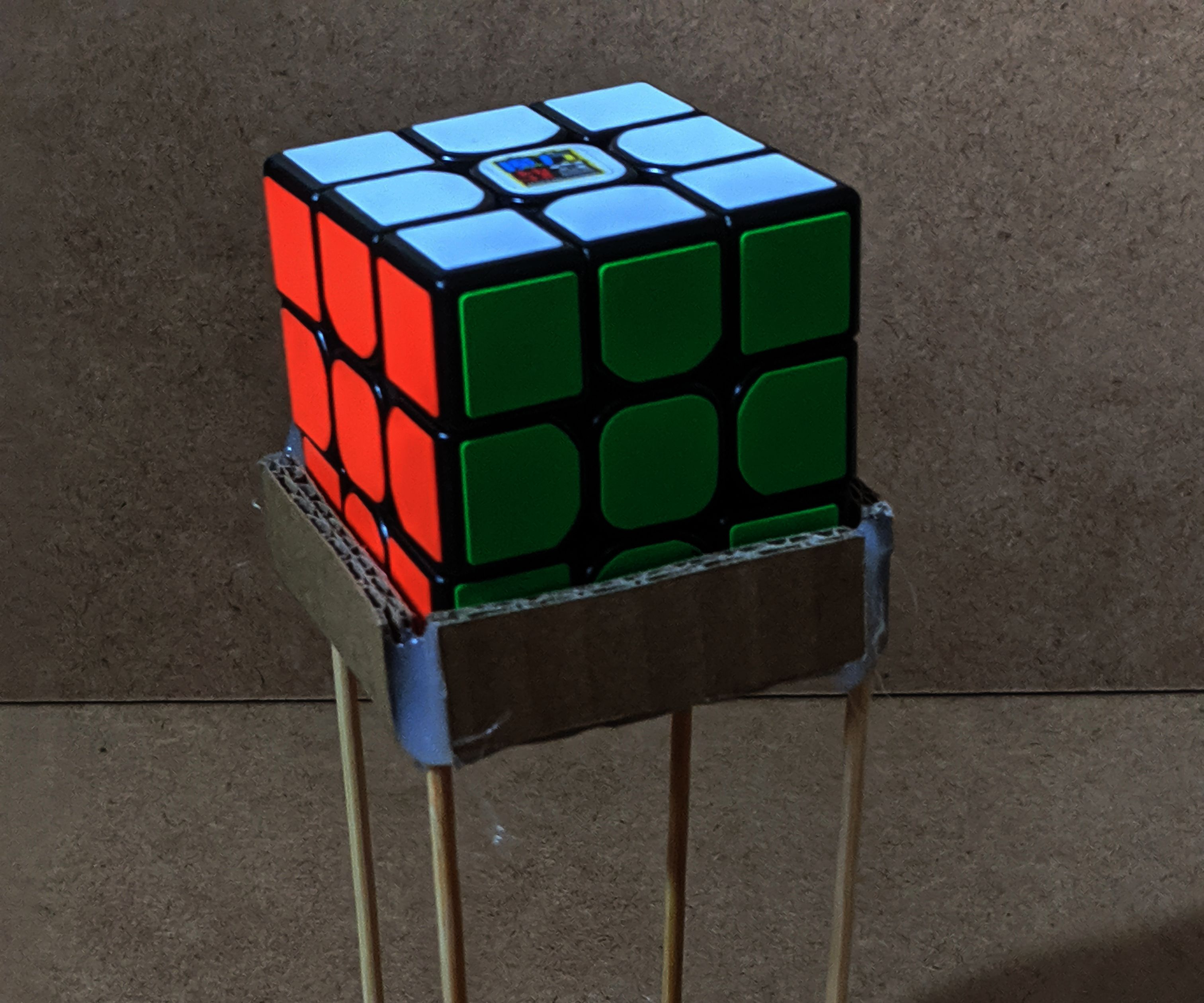 How to Make a Rubik's Cube Stand V2