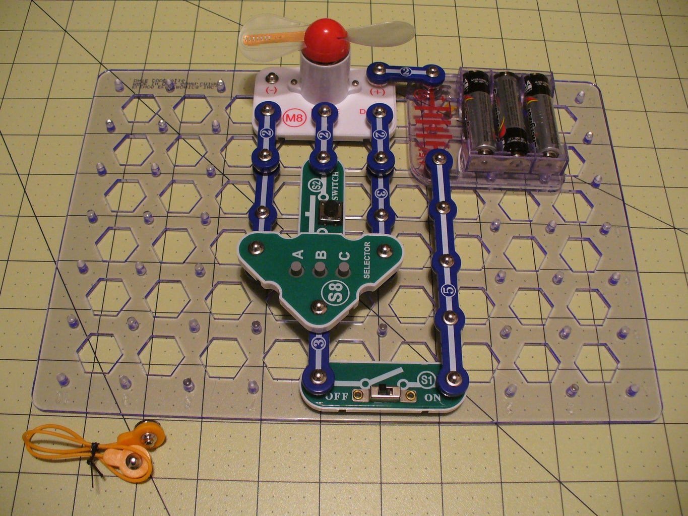 Build a Persistence of Vision Fan Circuit