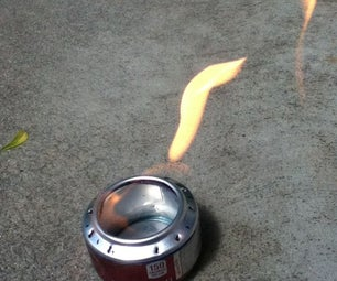 Pop Can Camp Stove