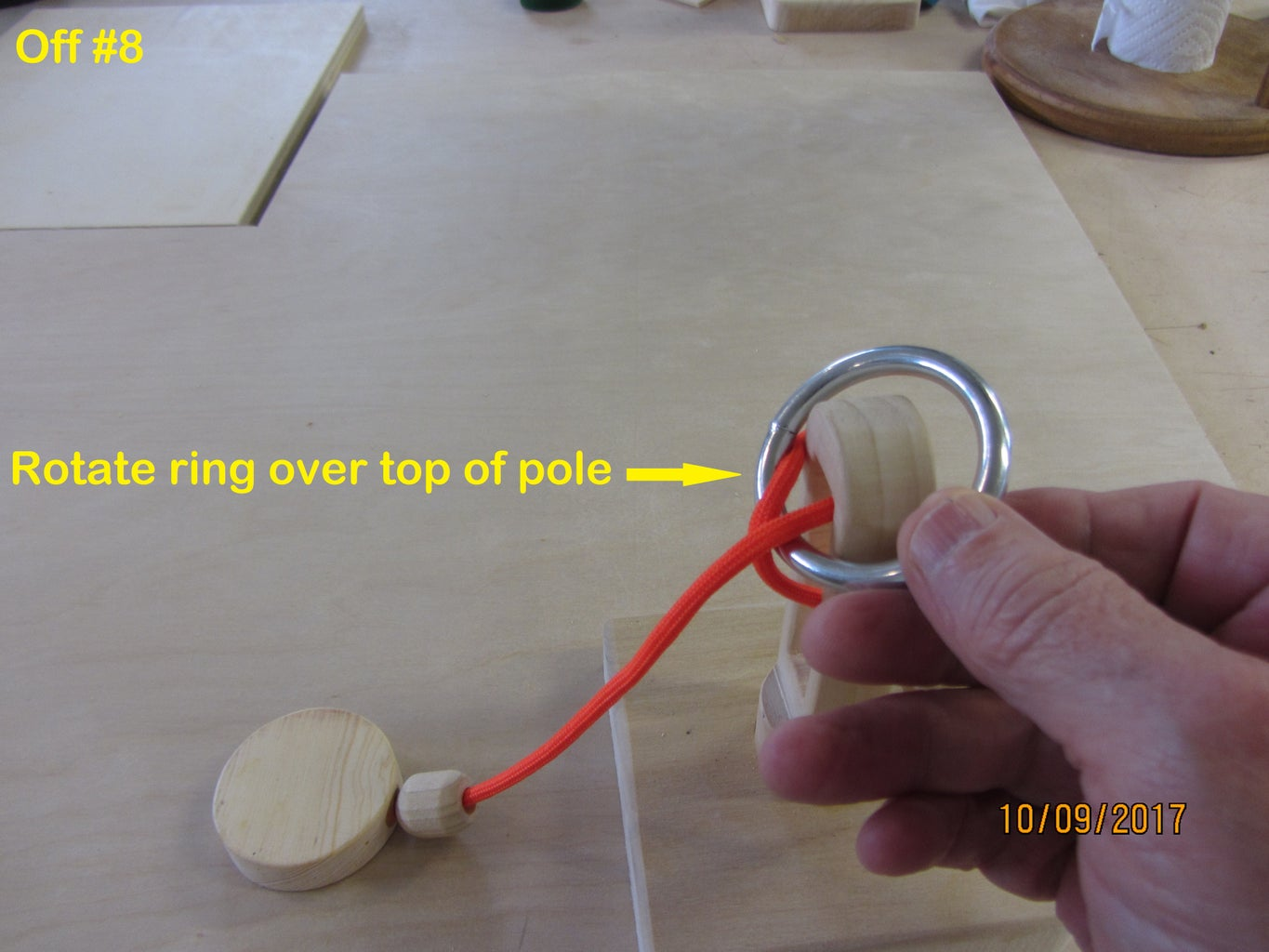 Solution - Remove the Ring - Step by Step Photos