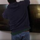 DIY Flat Screen Corner TV Mount
